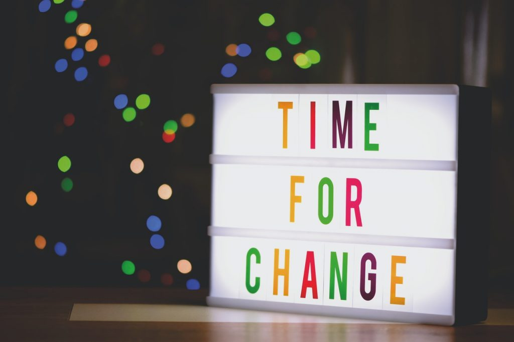 Cambiare significa essere migliori di quanto siamo oggi